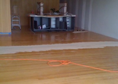 Extending the Timber Flooring